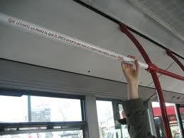 Barras de Autobús como soporte publicitario